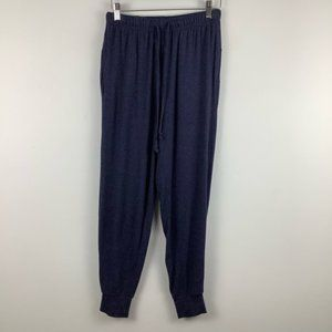 Aerie Super Soft Lounge Pants Joggers in Navy Blue